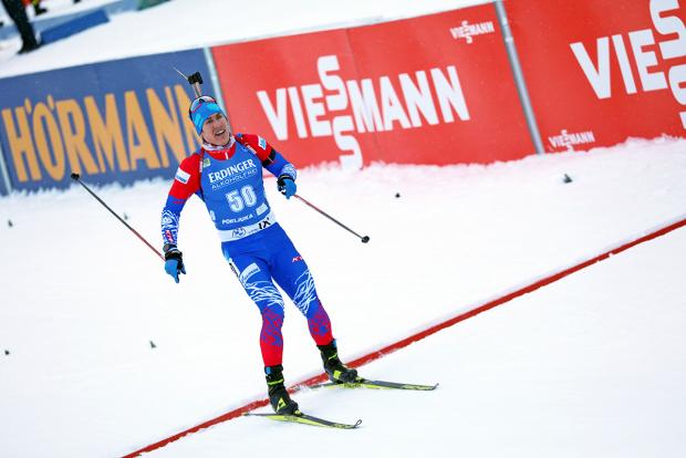 Российские биатлонисты снова без медалей, Голикова выигрывает ЧМ, у Шведа 1000 попаданий