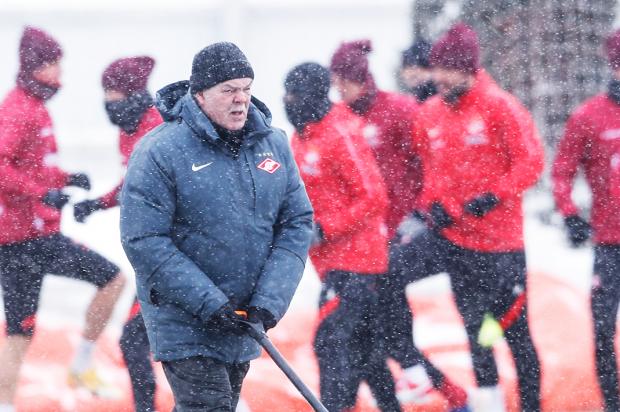 Дмитрий Хохлов: «Спартак», тренирующийся в снегопад в Тарасовке, адаптируется к дерби с «Динамо