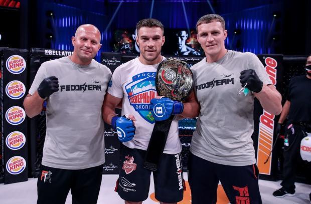 Российский чемпион против банды из UFC: Немков подерется в Гран-при Bellator