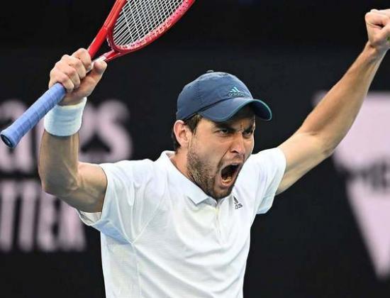 Чудо из Осетии. Карацев – в четвертьфинале Australian Open!