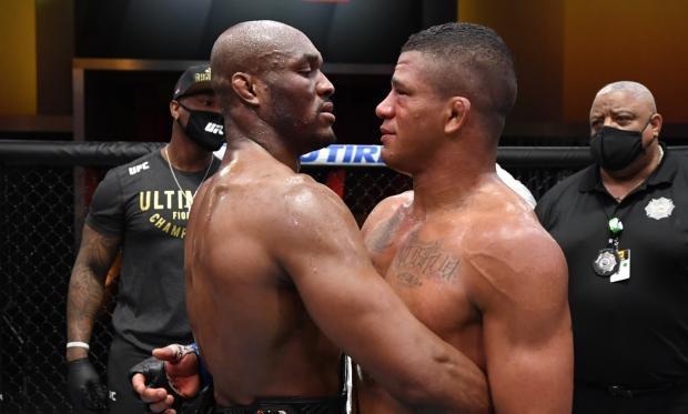 Усман был на грани поражения, а потом снес со своего пути Бернса. Главные моменты турнира UFC 258