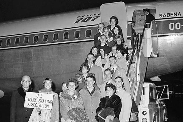 Страшная трагедия в аэропорту Брюсселя. 60 лет назад погибла сборная США по фигурному катанию