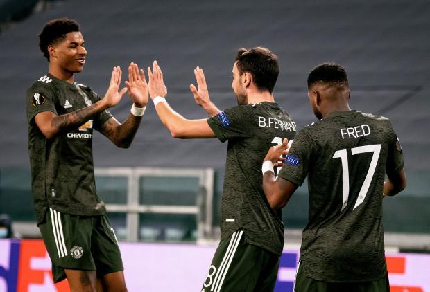 Три игрока «Манчестер Юнайтед» попали в команду недели в Лиге Европы