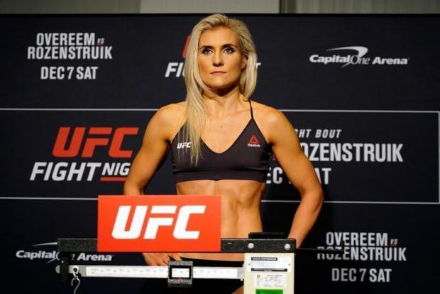 Девушка дня. Яна Куницкая: на этой неделе она подерется с бразильянкой в UFC
