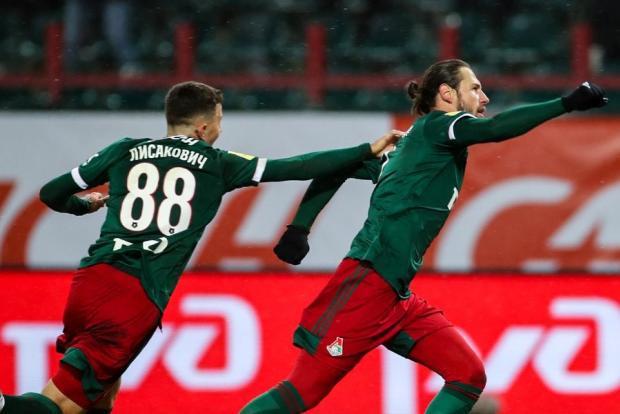 Голы Лисаковича и Крыховяка принесли «Локомотиву» победу над ЦСКА. Влашич не реализовал пенальти