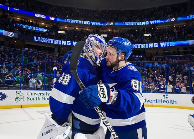 Василевский убивает карьеру в НХЛ Кучерова?