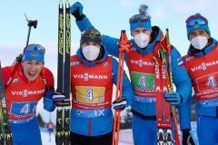 Взяли пример с лыжников. Россияне – вторые в эстафете в Нове Место!