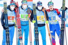 Лыжники и биатлонисты с серебром в эстафетах, Головин игрок месяца в «Монако», а Рублев в полуфинале