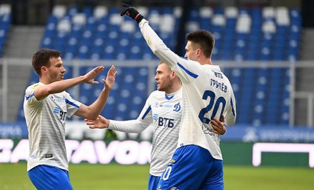 Голевая передача Захаряна помогла «Динамо» победить «Тамбов»