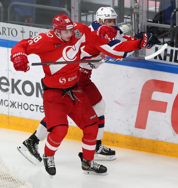 «Спартак» уступил ЦСКА в четвертом матче серии плей-офф и вылетел из Кубка Гагарина
