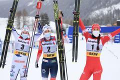 В марафоне - бронза, в сезоне – серебро. Ступак отстояла второе место в Кубке мира