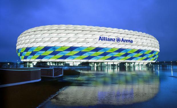 Уникальный стадион, уникальный город. «АЛЬЯНЦ АРЕНА», Мюнхен
