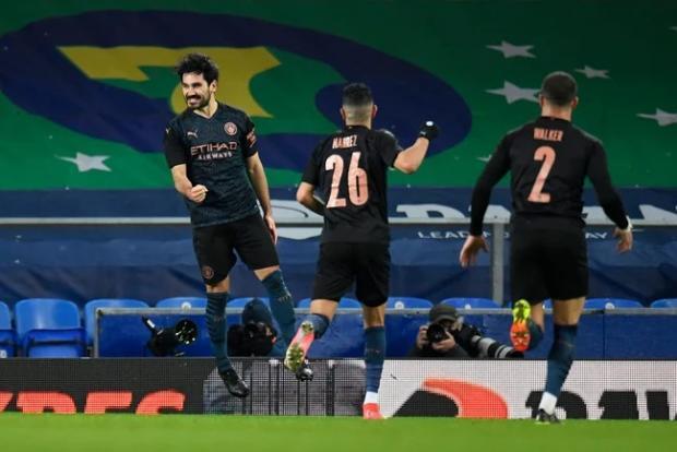 «Манчестер Сити» в гостях обыграл «Эвертон» и вышел в полуфинал Кубка Англии