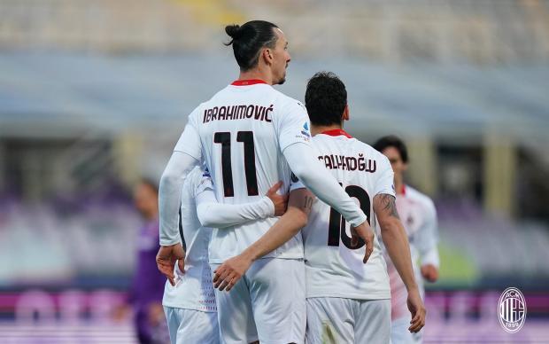 «Милан» на выезде одержал волевую победу над «Фиорентиной»