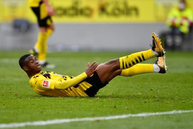 Мукоко больше не сыграет за дортмундскую «Боруссию» в этом сезоне