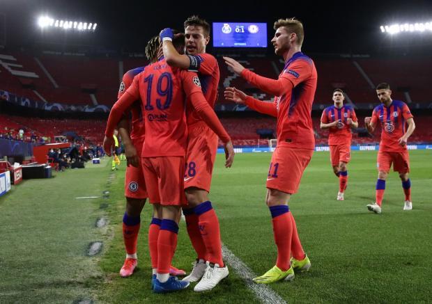 «Челси» выиграл у «Порту»