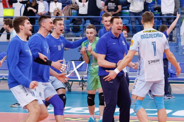 «Динамо» выиграло все! Бело-голубые - чемпионы страны