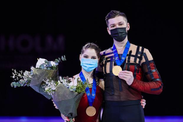 «Это будет первый турнир со зрителями». Мишина и Галлямов – о командном ЧМ