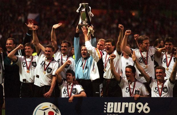 …А побеждают всегда немцы. Германия выиграла Евро-1996, Россия не вышла из группы