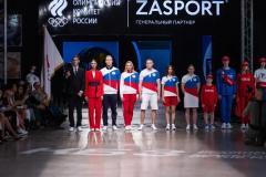 Презентация экипировки российских олимпийцев от ZASPORT прошла на ВДНХ