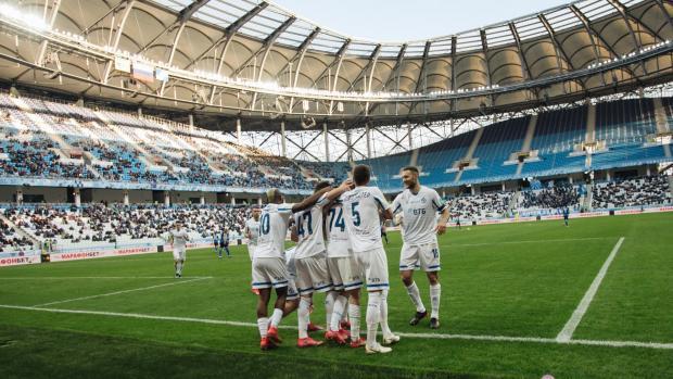 «Динамо» на выезде победило «Ротор» и вышло на пятое место