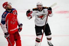 Хартли сделал первый шаг к реваншу. «Авангард» выиграл у ЦСКА