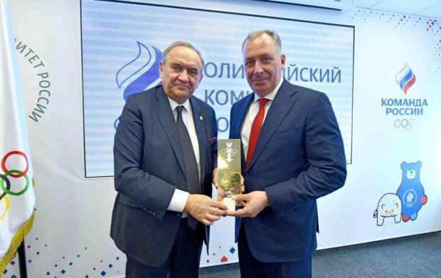 Станислав Поздняков встретился с делегацией НОК Польши
