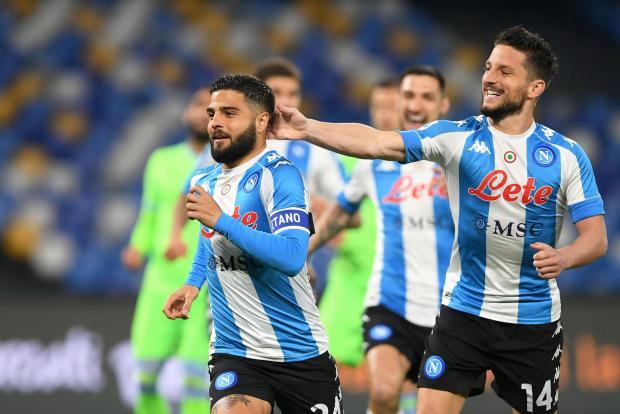«Наполи» разгромил «Лацио» в матче серии А