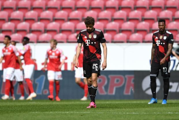 «Бавария» проиграла «Майнцу»