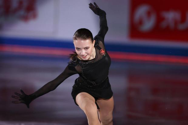 Щербакова стала лучшей спортсменкой марта по версии Американской спортивной академии