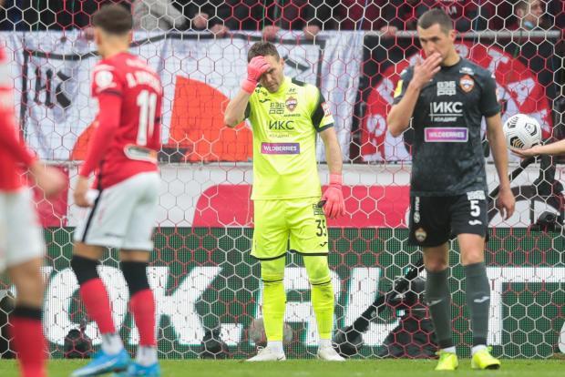 Вратарь ЦСКА Акинфеев взял на себя вину за пропущенный в матче со «Спартаком» гол