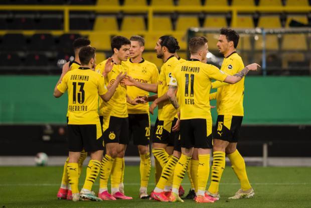 Дортмундская «Боруссия» вышла в финал Кубка Германии, обыграв «Хольштайн»