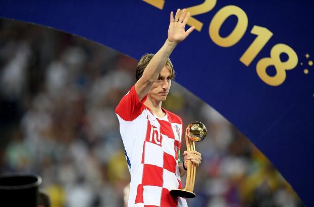 Модрич в походе за вторым «Золотым мячом». Сборная Хорватии