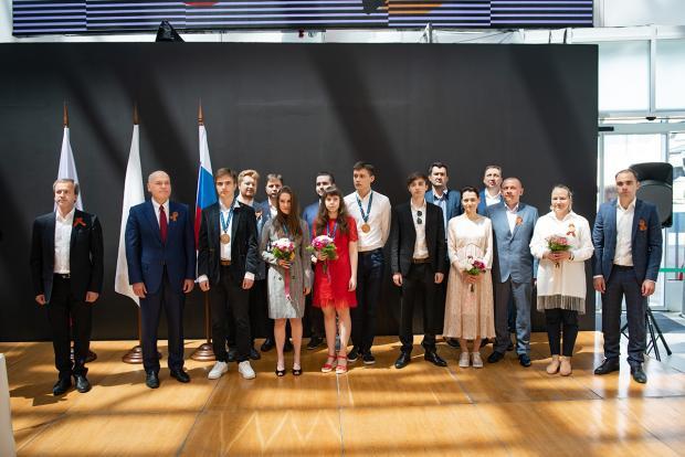 В «Сириусе» прошло награждение юниорской сборной России