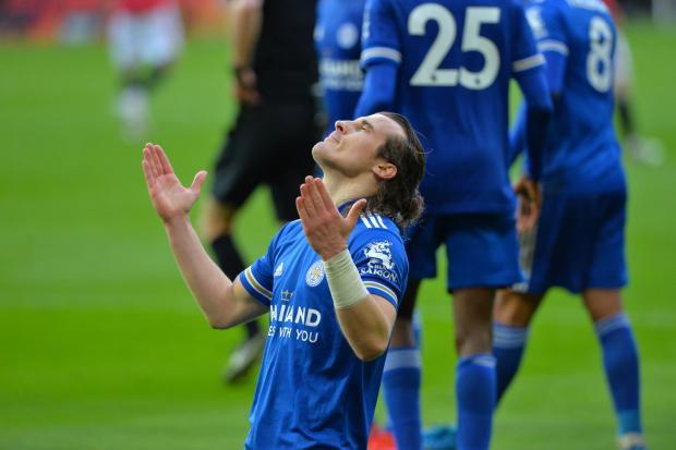 «Манчестер Юнайтед» проиграл «Лестеру» и сделал «Манчестер Сити» чемпионом Англии
