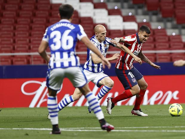 «Атлетико» победил «Реал Сосьедад» и увеличил отрыв от второго места до четырех очков