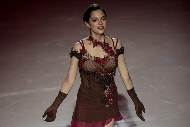 Медведева выступит в паре с Энбертом в ледовом шоу Авербуха