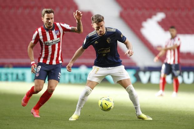 «Атлетико» вырвал победу в матче с «Осасуной»