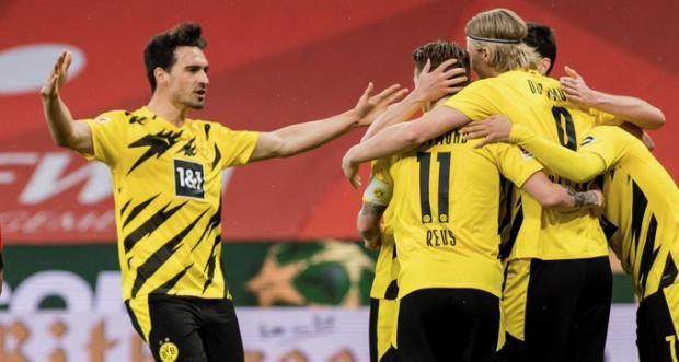 Дортмундская «Боруссия» обыграла «Майнц» и гарантировала себе выход в Лигу чемпионов