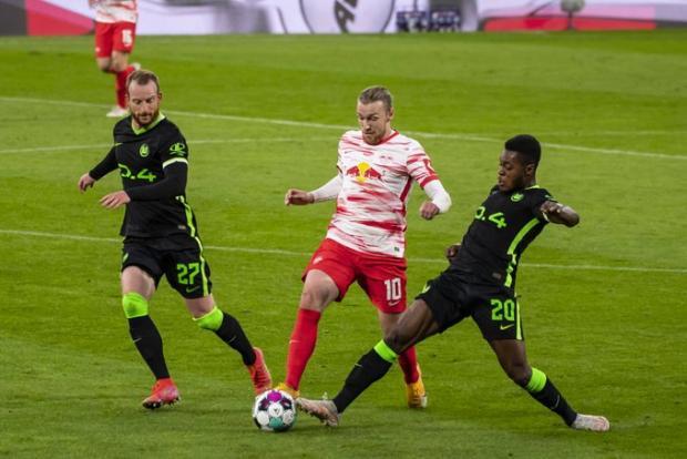 Ничья с «РБ Лейпциг» вывела «Вольфсбург» в Лигу чемпионов, а Филипп оформил дубль