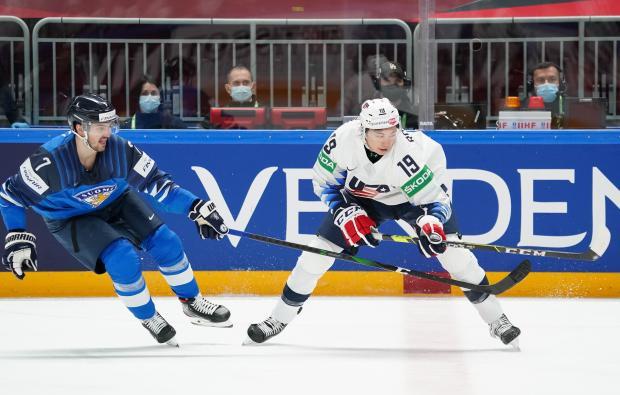 Сборная Финляндии обыграла США на чемпионате мира (видео)