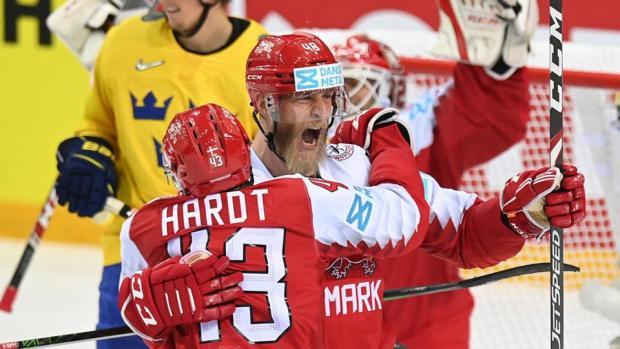 Сборная Дании впервые в истории обыграла Швецию на чемпионате мира (видео)