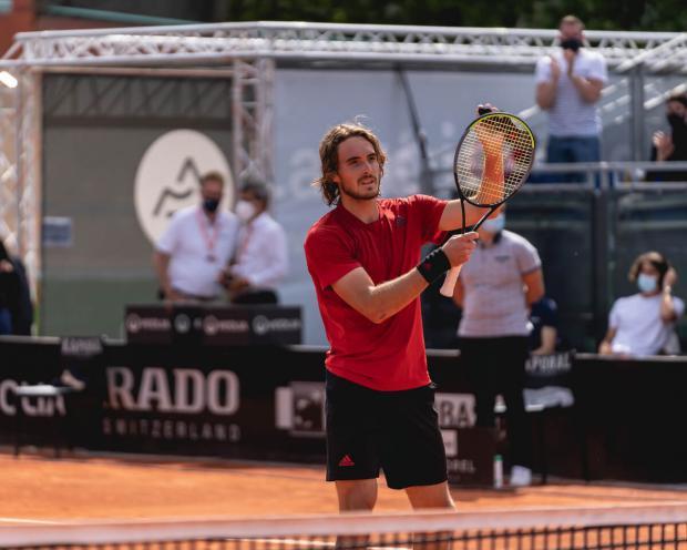 Циципас в финале турнира в Лионе победил Норри