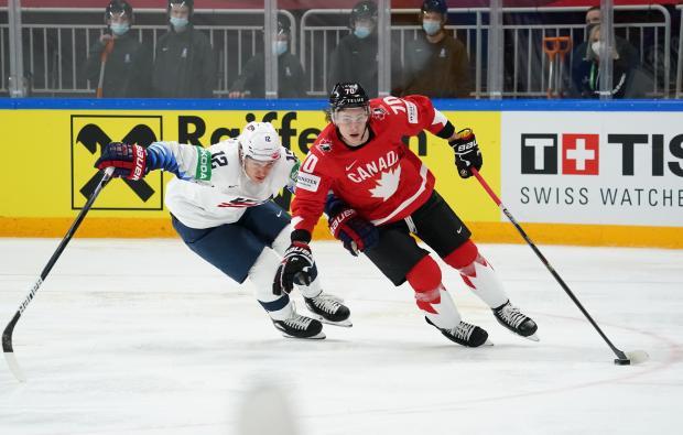 Канадцы потерпели второе поражение на чемпионате мира, уступив США (видео)