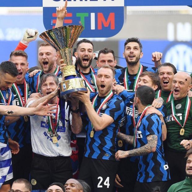 «Интер» впервые с  2010 года стал чемпионом Италии, «Ювентус» в последний момент попал в ЛЧ