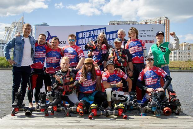 Федерация водно-моторного спорта Москвы провела первые соревнования сезона (фото)