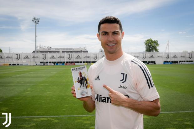 Роналду признан лучшим игроком сезона в «Ювентусе»