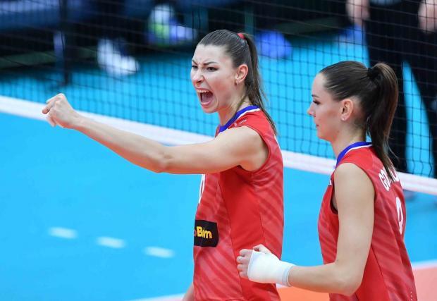 Женская сборная России начала Лигу наций с победы над Германией