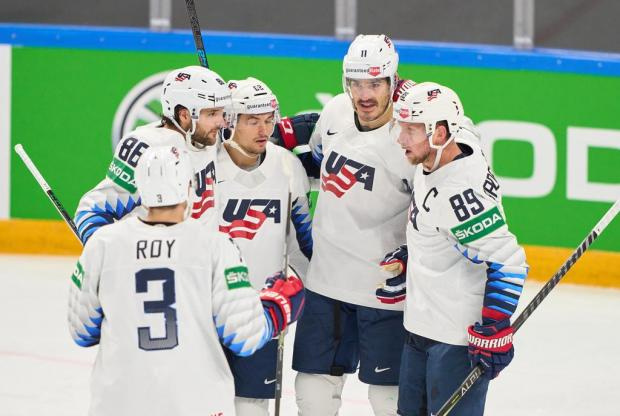Сборная США обыграла Латвию на чемпионате мира (видео)