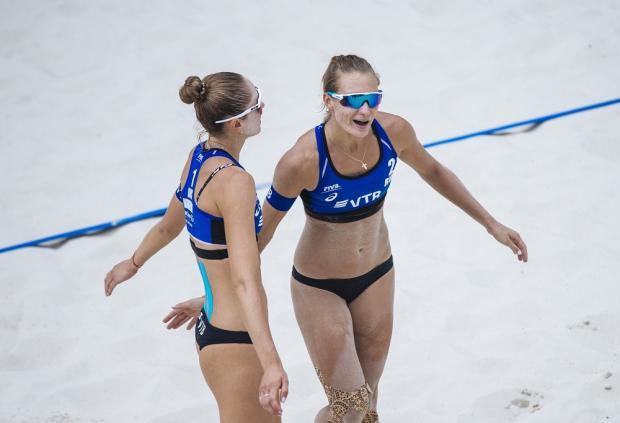 В Токио через Сочи. В столице Игр-2014 закончился этап Мирового тура по пляжному волейболу